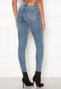 CHEAP MONDAY Mid Skin Jeans Media Blue Bubbleroom.eu