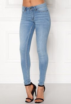 CHEAP MONDAY Mid Spray Jeans Stone Bleach Bubbleroom.eu