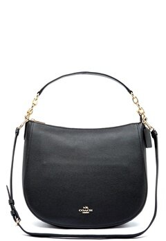 COACH Chelsey Leather Bag LIBLK Black Bubbleroom.eu