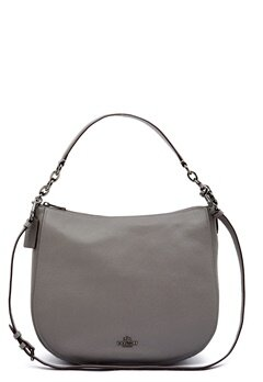 COACH Chelsey Leather Bag DKHGR Heather Grey Bubbleroom.eu