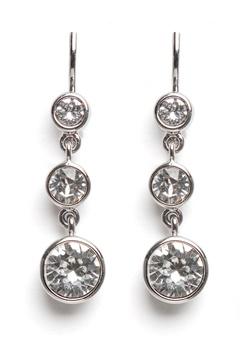 Dyrberg/Kern Chia Earrings Crystal Bubbleroom.eu
