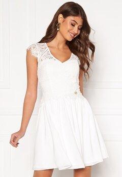 Chiara Forthi Amante lace dress White Bubbleroom.eu