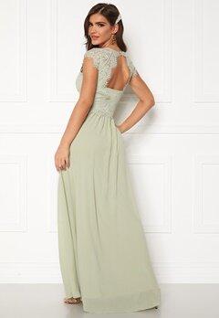 Chiara Forthi Amante lace Gown Light green Bubbleroom.eu