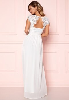 Chiara Forthi Amante Lace Gown White Bubbleroom.eu
