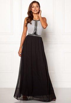Chiara Forthi Anastasia embellished gown Black / Grey Bubbleroom.eu