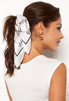 Chiara Forthi Arezzo scarf Black / Offwhite Bubbleroom.eu