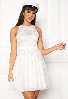 Chiara Forthi Arielle tulle dress White Bubbleroom.eu