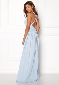 Chiara Forthi Athena Gown Light blue Bubbleroom.eu