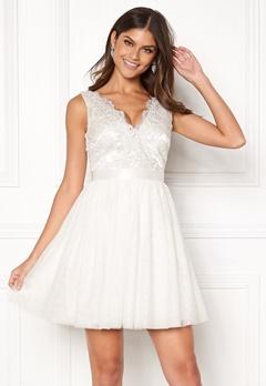 Chiara Forthi Audrey dress White Bubbleroom.eu