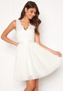Chiara Forthi Audrey tulle dress White Bubbleroom.eu