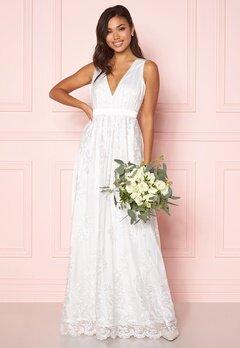 Chiara Forthi Ava gown White Bubbleroom.eu