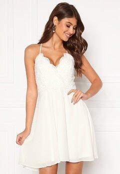 Chiara Forthi Bella dress White Bubbleroom.eu