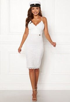 Chiara Forthi Berenice lace dress White Bubbleroom.eu