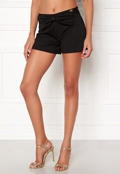 Chiara Forthi Bow Shorts Black Bubbleroom.eu