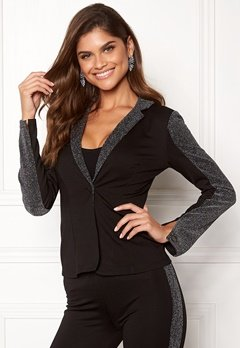 Chiara Forthi Brillante suit jacket Black / Glitter Bubbleroom.eu