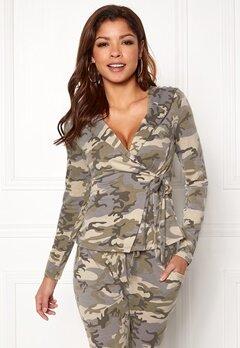 Chiara Forthi Cadenza camo wrap hoodie Camouflage Bubbleroom.eu