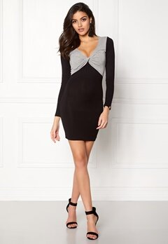 Chiara Forthi Calandra Dress Black / Grey melange Bubbleroom.eu