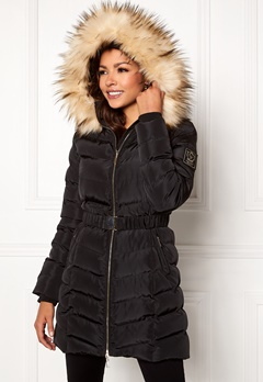 Chiara Forthi Campitello Padded Jacket Black Bubbleroom.eu