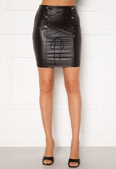 Chiara Forthi Cardi lace up skirt Black Bubbleroom.eu