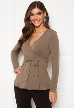 Chiara Forthi Cashmere-Feel Cozy Wrap Light nougat Bubbleroom.eu