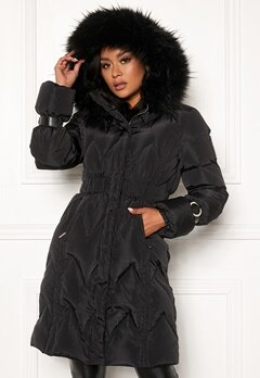 Chiara Forthi Catania down jacket Black Bubbleroom.eu