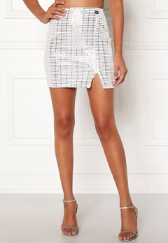 Chiara Forthi Celebrity skirt White / Silver Bubbleroom.eu