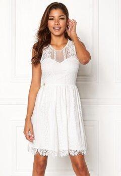 Chiara Forthi Celeste dress White Bubbleroom.eu