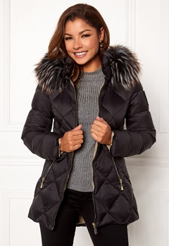 Chiara Forthi Cervina Down Jacket Black Bubbleroom.eu