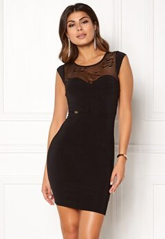 Chiara Forthi Chasmina dress Black Bubbleroom.eu