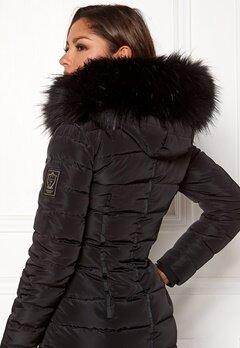 Chiara Forthi Chiara Faux Fur Collar Black Bubbleroom.eu