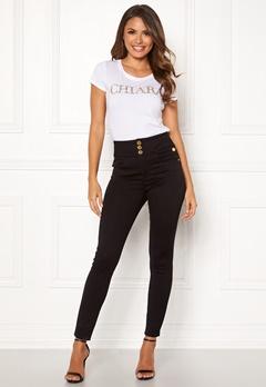 Chiara Forthi Chiara high waist jeans Black Bubbleroom.eu