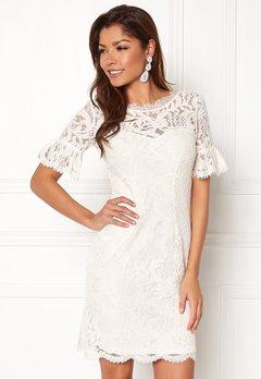 Chiara Forthi Cloelle Lace Dress Antique white Bubbleroom.eu
