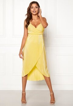Chiara Forthi Corinne dress Yellow Bubbleroom.eu