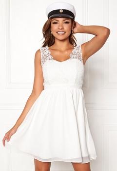 Chiara Forthi Daisy dress White Bubbleroom.eu