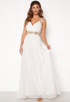 Chiara Forthi Diana Gown White / Gold Bubbleroom.eu
