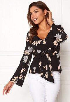 Chiara Forthi Domenica blouse Black / Floral Bubbleroom.eu
