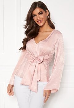 Chiara Forthi Domenica blouse Dusty pink Bubbleroom.eu