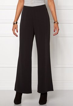 Chiara Forthi Eleganza Wide Pants Black Bubbleroom.eu