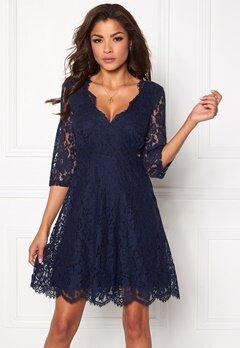 Chiara Forthi Ellix Dress - 2 Dark blue Bubbleroom.eu