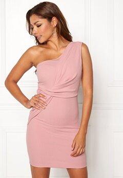 Chiara Forthi Elsa oneshoulder dress Pink Bubbleroom.eu