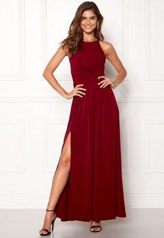 Chiara Forthi Erica Maxi Dress Wine-red Bubbleroom.eu