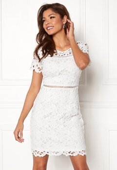 Chiara Forthi Felizia Lace Dress Cream Bubbleroom.eu