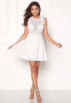 Chiara Forthi Ferrer Lace Dress Antique white Bubbleroom.eu
