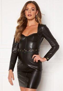 Chiara Forthi Gemma L/S Corset Dress Black Bubbleroom.eu