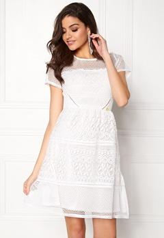 Chiara Forthi Gianina Dress Antique white Bubbleroom.eu