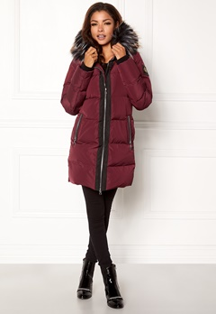 Chiara Forthi Harbin Down Puffer Bordeaux / Black Bubbleroom.eu