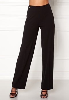 Chiara Forthi Highrise Stretch Trousers Black Bubbleroom.eu