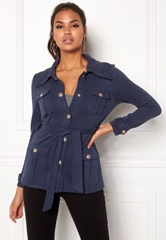 Chiara Forthi Intrend Officer Jacket Dark blue Bubbleroom.eu