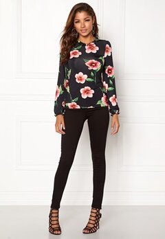 Chiara Forthi Intrend Tulip Top Red / Floral Bubbleroom.eu