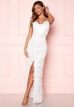 Chiara Forthi Irmeline gown  White Bubbleroom.eu